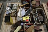 Pallet brushes, locks, electric rack.