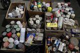 Pallet spray paints, quarts, waxes.