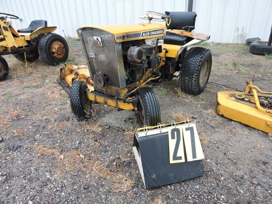 "Allis-Chalmers B-10, sn 051476, w/ 42"" mowerdeck,  Condition Unknown."