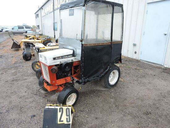 Allis- Chalmers sn 29941024, 410 w/ shopmade Cab,  Condition Unknown.