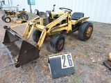 Allis-Chalmers B-12, sn  001664, w/ loader,  Condition Unknown.