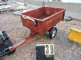 Red Devil load hog utility trailer.