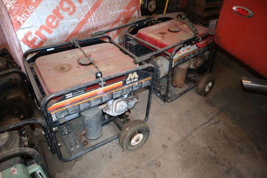 MI-T-M portable generator 6,000-7,500.