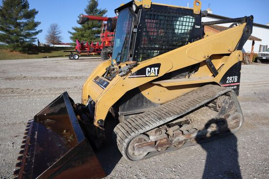 Caterpillar 287B skidloader, sn CAT0287BVZSA03926, hours on meter 2,876, Hi
