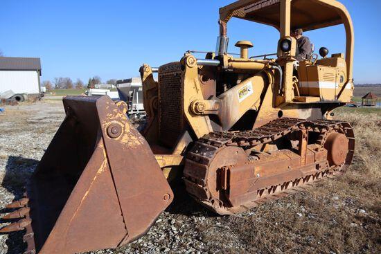 """Dresser 175C track loader, OROPS, sn 429005P040741, hrs. on meter 931, 16"""""""