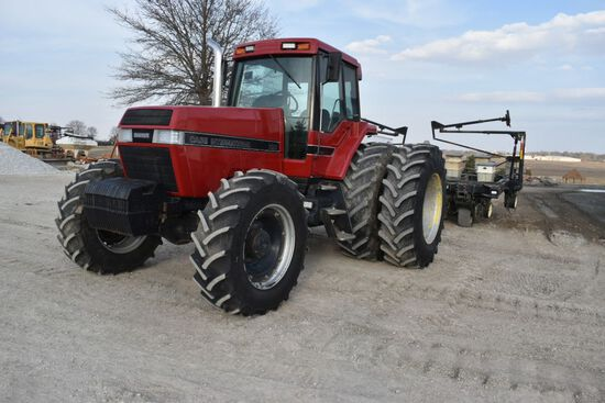 1992 Case 7130  tractor, sn JJ0015361, hrs. on meter 8,147, dual rears, NEW