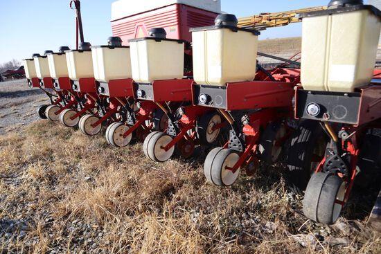 "Cyclo planter model 800 (air), 8 row, 30"" row, bean, corn drum, pump Big 1,"