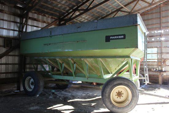 Parker 450 grain wagon, 4000#, w/extension.