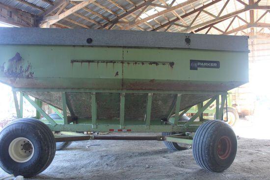 Parker 375 grain wagon 375, 4000#, w/extension.