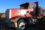 1990 Peterbilt Truck tractor flatbed, vin 1XPCDE9X1MD301629, miles on meter