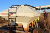 Friesen bulk seed tender, model 7S110, Honda power, Mounted on tandem axle
