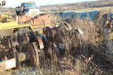 2003 Fabco 16' tandem axle flatbed trailer, model C-10, vin 4KNUC16273LI625