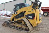 Caterpillar 289C skidloader, sn CAT289CCJMP02581, 5,363 HRS. METER.