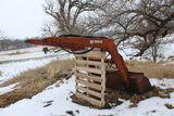 Farmhand loader attachment.