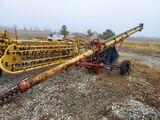 Hutchinson portable grain auger