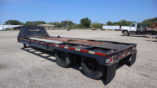 LaCrosse Flat bed trailer,