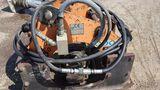 Stanley HS-6019, sn 4409 head shaker for backhoe.