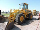 1988 John Deere 544E wheel loader, sn DW544E8217441, hrs. on frame meter 9,