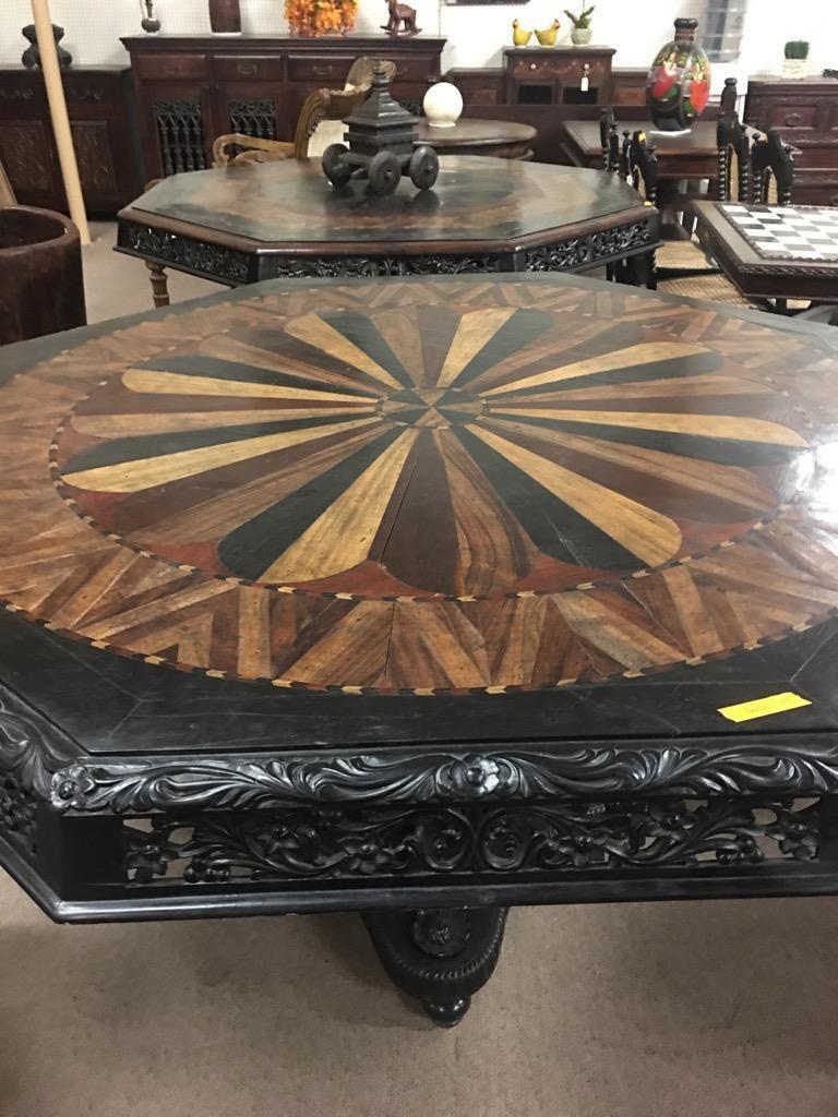 SOLID EBONY WOOD TABLE