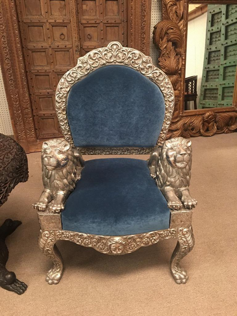 EXQUISITE STERLING SILVER CHAIR