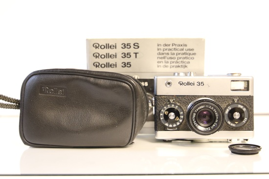 Rollei 35 with Rollei Case and Manual