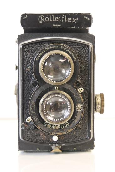 Rolleiflex TLR Camera