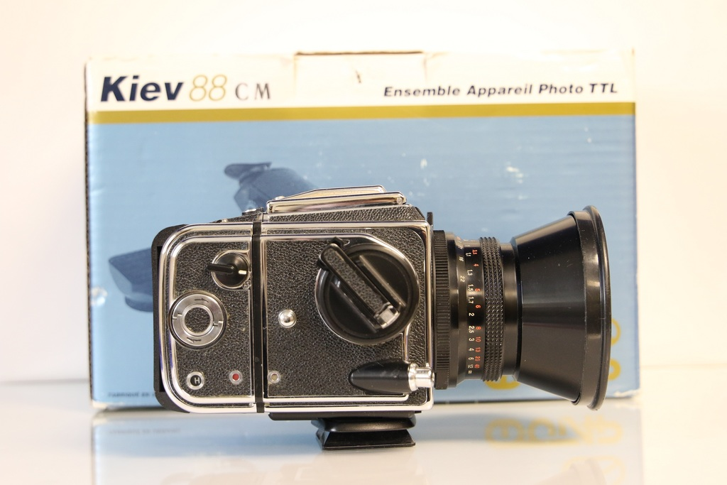 Kiev 88CM Medium Format SLR, with Original Box