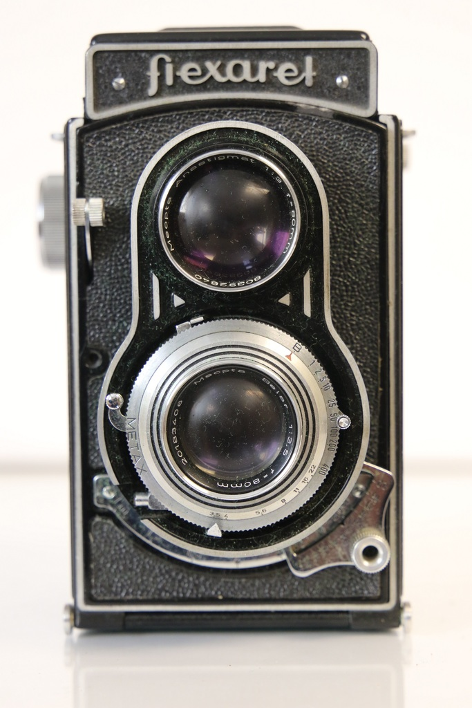 Meopta Flexaret IV TLR Camera with Leather Case