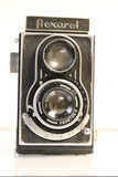 Optikotechna Flexaret TLR Camera with Leather Case