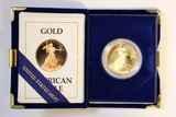 1990 1 ounce American Gold Eagle Coin