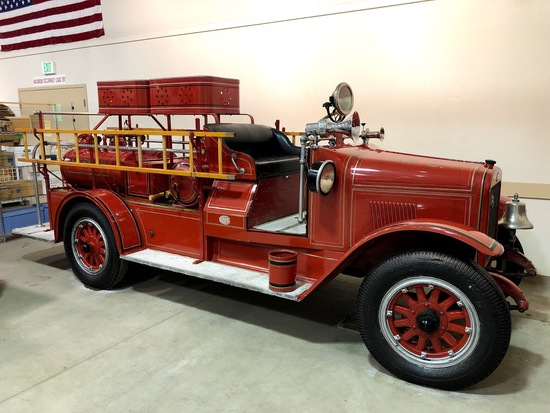 Fire Trucks and Fire Collectibles at Auction