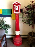Fire Alarm Station on Stand