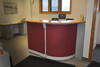 STEEL CASE RECEPTION DESK