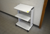 THREE TIER ROLLING OFFICE STAND