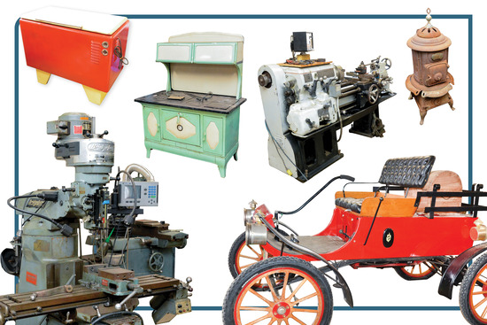 Machine Shop & Unique Collectibles Auction
