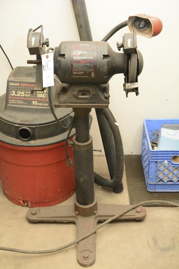 "Sears Craftsman 8"" Bench Grinder"