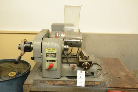 Hardinge Bench Lathe with XY Attachment 111125