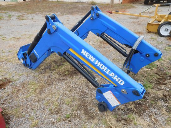 New Holland 815 TL Front End Loader, Skid Steer Quick Attach