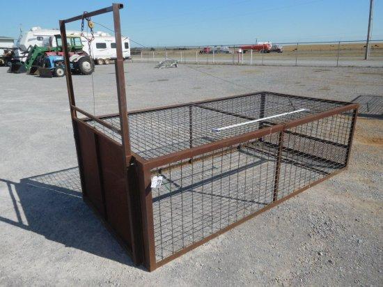HOG TRAP 5' X 10', REMOVABLE GATE