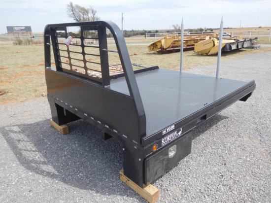 SCORPION SPIKE BED FOR 8' SINGLE WHEEL FLATBED