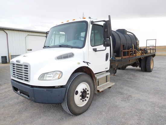 2004 FREIGHTLINER BUSINESS CLASS M2 TRUCK, AUTO, 3206 CAT ENGINE, SA, DUALS
