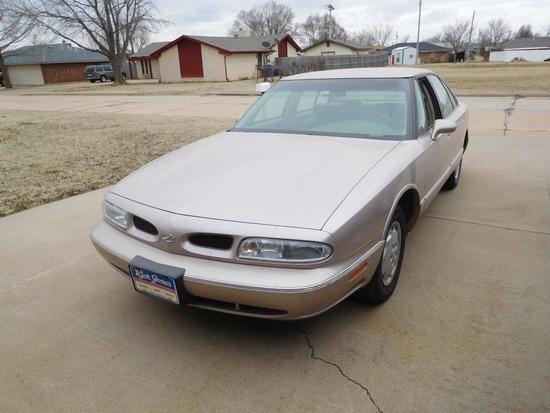 1999 Oldsmobile 88 Car, V6, Auto, Shows 95,000 Mi. (TITLE) VIN:1G3HN52K4X48