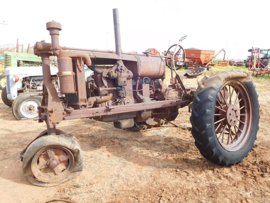 IH F20 Tractor, Tricycle, SN:FA9568, (Does Not Run)