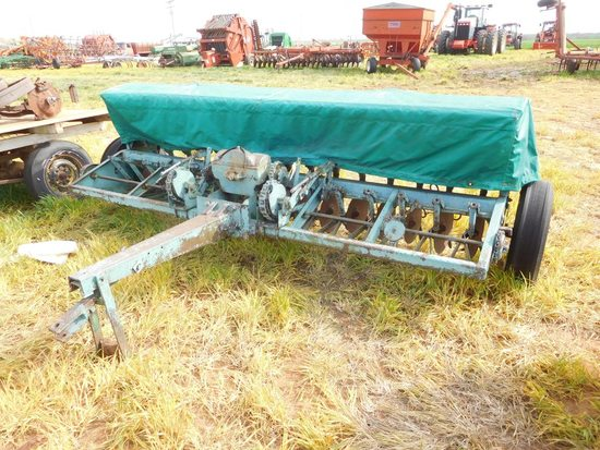 """Oliver 10' Grain Drill, SD, 8"""" Spacing"""