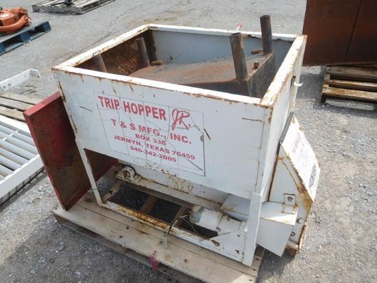 T&S TRIP HOPPER, 200 LBS.