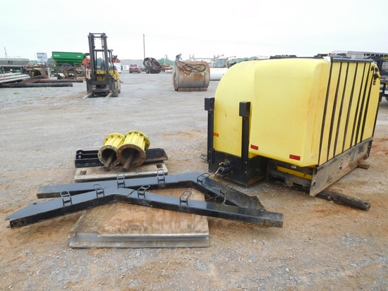 DEMCO SIDEQUEST 1000 GALLON SADDLE TANKS W/IVT BRACKETS FOR JD 8X30/R SERIE