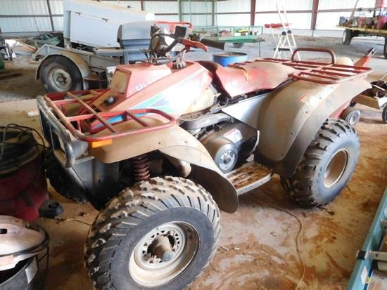 Polaris 400 4-Wheeler, 4 x 4, Auto