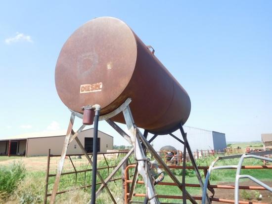 500 Gal. Overhead Fuel Tank