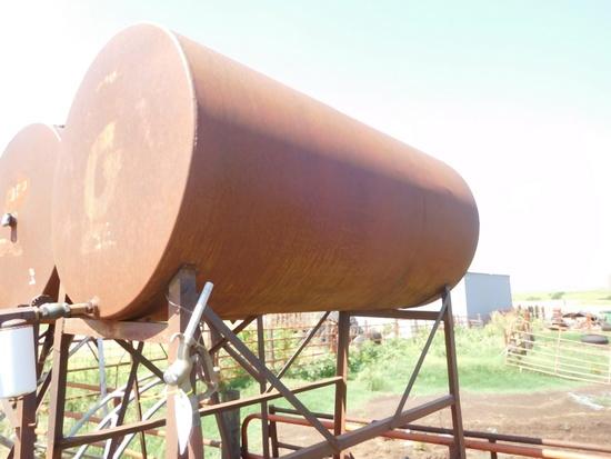 300 Gal. Overhead Fuel Tank