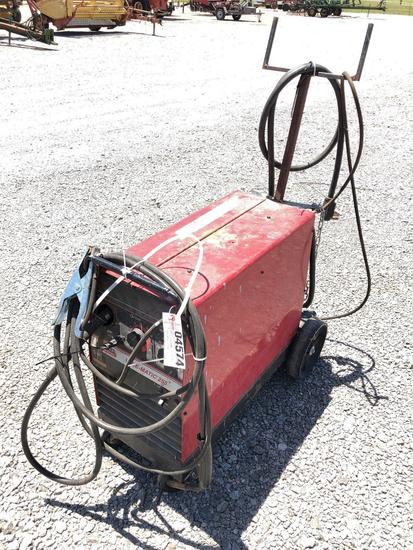 LINCOLN WIREMATIC 255 WELDER W/ LEADS W/LEADS